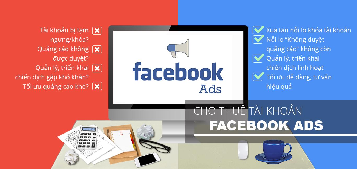Thuê tài khoản quảng cáo facebook hot nhất 2022